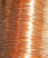 22 Gauge Soft Annealed Bare Copper Building Ground Wire Made In USA (500 FT)
