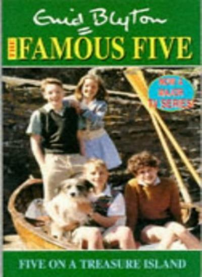 Five on a Treasure Island (The Famous Five TV tie-ins) By Enid Blyton