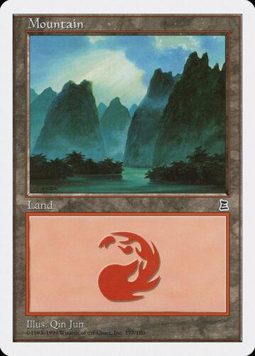 FREE US SHIPPING! Portal Three Kingdoms 177 LP C MTG X1: Mountain