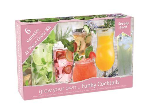 Speedy Seeds Funky Grow Kits Grow Your Own Funky Cocktials 6 Varieties