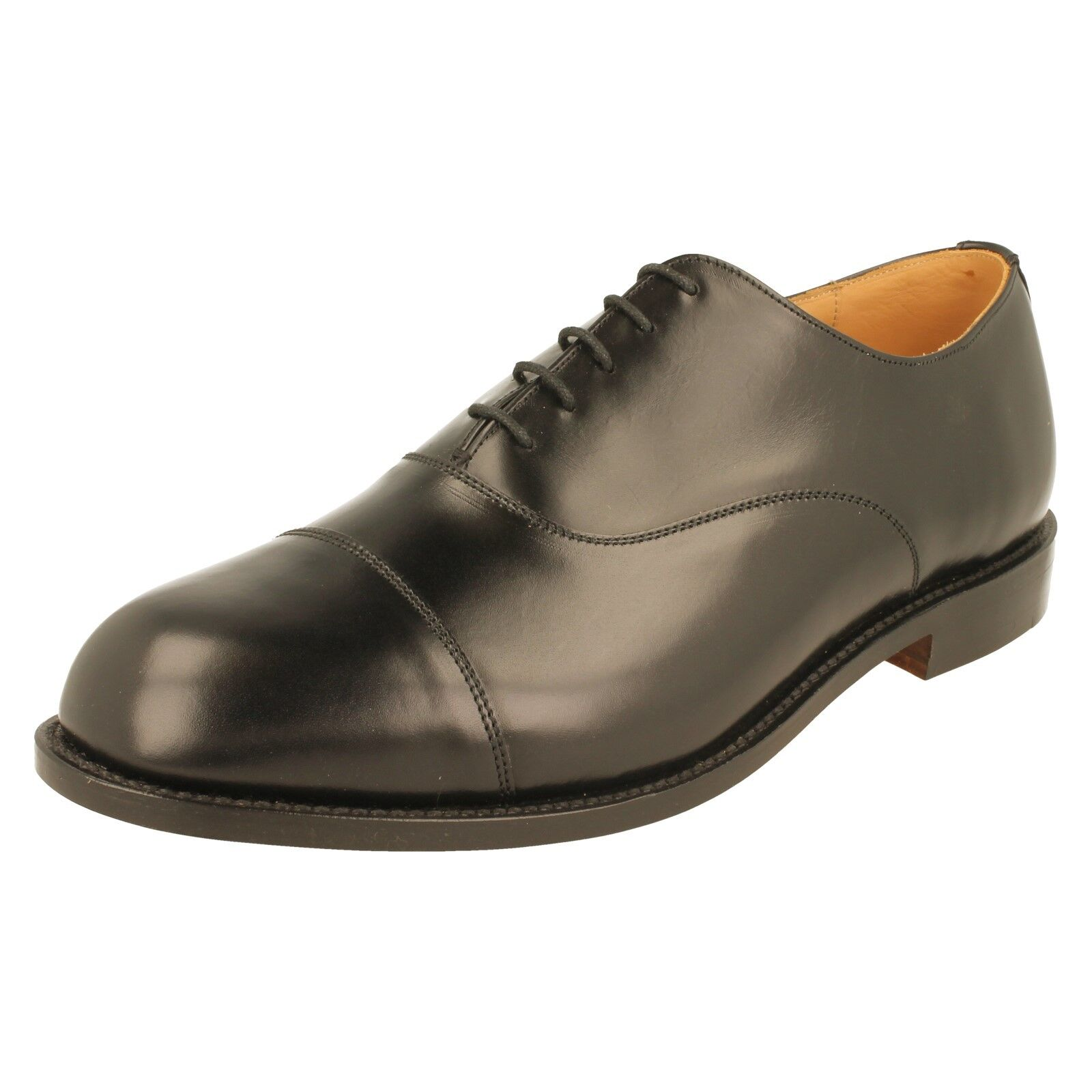 Zapatos para Hombre Goodyear Welted DB Oxford EE-4E Ancho FITT-T.