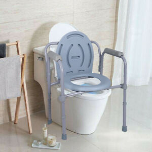 Admirable Details About Folding Commode Over Bedside Toilet Seat Senior Citizen Bathroom Safety Chair Gy Spiritservingveterans Wood Chair Design Ideas Spiritservingveteransorg