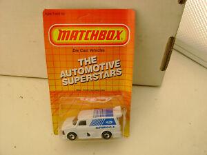 1987-MATCHBOX-SUPERFAST-MB-6-FORD-RACING-VAN-SUPERVAN-II-NEW-ON-DAMAGED-CARD