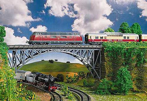 FALLER Deck Arch Bridge 355mm Model Kit II HO Gauge 120541