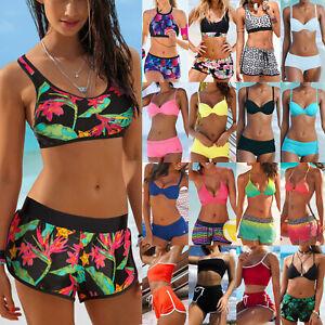 Women-Swim-Shorts-Tankini-Bottom-Bikini-Set-Sport-Board-Boy-Short-Beach-Swimwear