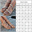Womens-Boho-Pearl-Sandals-Summer-Holiday-Beach-Rhinestone-Flat-Beach-Shoes-Size thumbnail 2