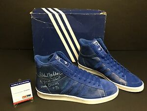 Kareem Abdul-Jabbar Signed Adidas Shoes