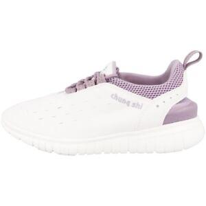 Chung-Shi-Duflex-entrenador-zapatos-zapatillas-zapatillas-White-lavender-8800180