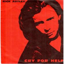 """<623> 7"""" Single: Rick Astley - Cry For Help / Behind The Smile"""