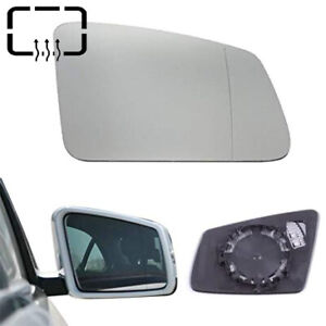 Left Side For Mercedes-Benz S//C//E-class W212 W204 C63 Heated Wing Mirror Glass
