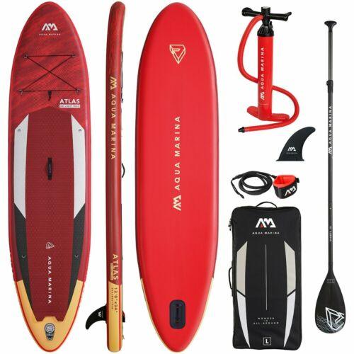 "AQUA MARINA ATLAS 12/'0/"" SUP Board Stand Up Paddle Surf Board ISUP 15x86x366cm"
