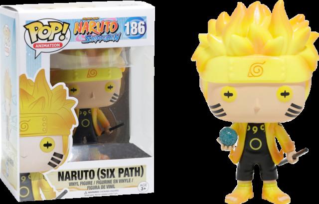 Naruto: Shippuden - Naruto Six Path Glow in the Dark Pop! Vinyl Figure