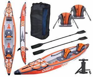 ZRAY KAJAK DRIFT AIR Kajak Kayak Kanu Tourenkajak aufblasbar 426x81cm