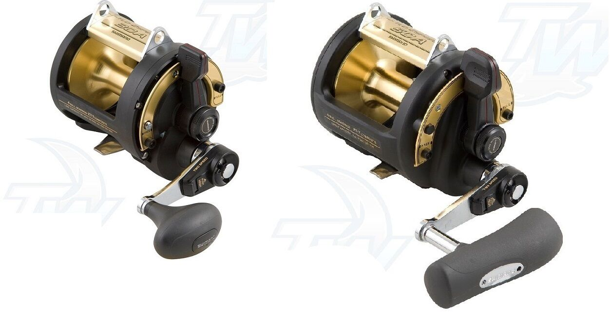 Shimano TLD 2- Speed Lever Drag Boat Fishing Reel TLD-30A or TLD-50A