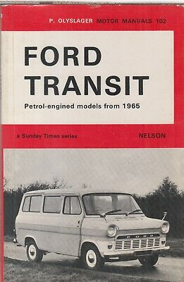 Agriculture/farming Ford Transit Operators Manual 1971