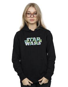 Star Wars Logo Con Felpa Cappuccio Donna Palm 47SqwC4