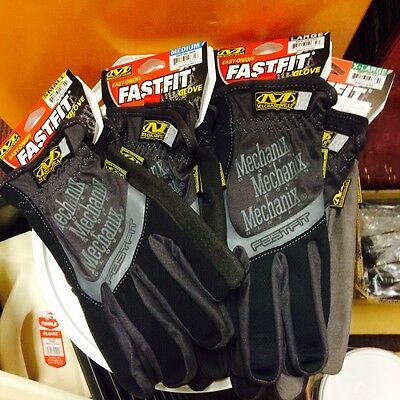 Mechanix Fast Fit Gloves - 4 Sizes- Ideal for Mechanics, Racers, DIY & Much More