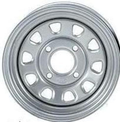 2-ITP Delta Silver Steel Wheel Front Polaris 02-09 P700 Sportsman 371341