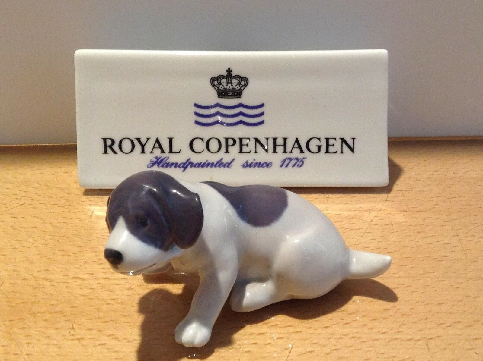 Royal Copenhagen Figurine no.1311 - Cucciolo Pointer Gum - Pointer Puppy