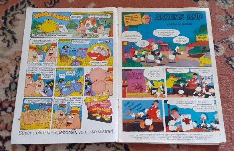 WALT-DISNEY's ANDERS AND NR. 14 - 1986, Walt Disney,