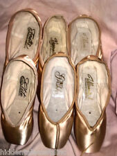 Women Girl GRISHKO POINTE SHOES 2007 VAGANOVA FOUETTE ULANAVA  ELITE S,M,H-SHANK