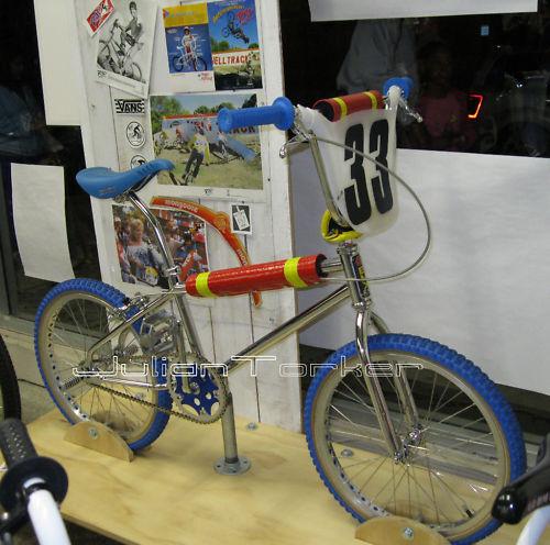 Cru Jones Replica 33 number plate RAD The Movie Old School BMX bill allen