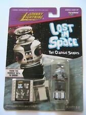 1998 JOHNNY LIGHTNING LOST IN SPACE ROBOT B-9 NEW ON CARD