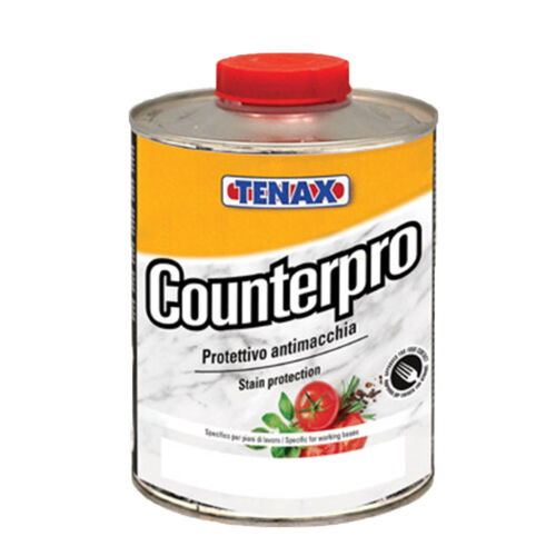 PROTETTIVO ANTIMACCHIA PER TOP CUCINA COUNTERPRO  STAIN PROTECTION TENAX  LT.1