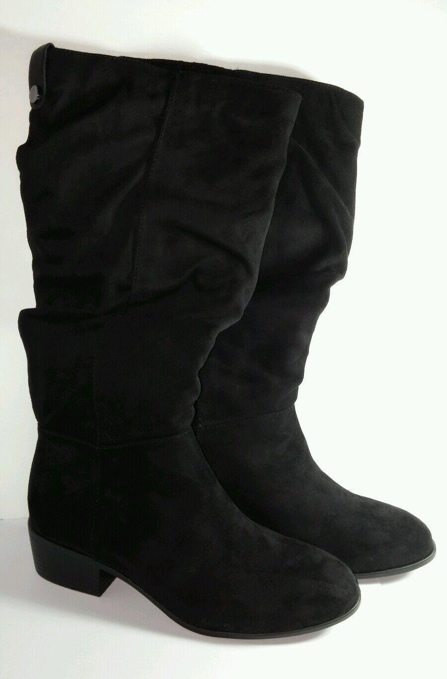 CANDIES Bennigan noir grande taille 6 Femme Chaussure Talon Bottes démarrage New Ret  79 Neuf Avec Étiquettes
