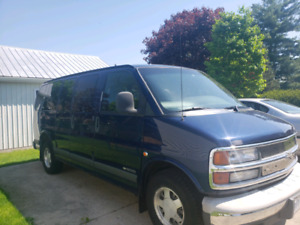 For Sale 2001 Chev Express Van