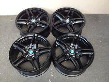 16 Zoll Borbet XR Felgen 7x16 5x120 Schwarz BMW E46 E90 E91 E92 e82 e87 e81 Alu