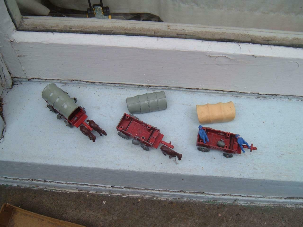 Budgie Toys-WAGON TRAIN-Wild West chariots-Spares Repairs Repairs Repairs - e17d53