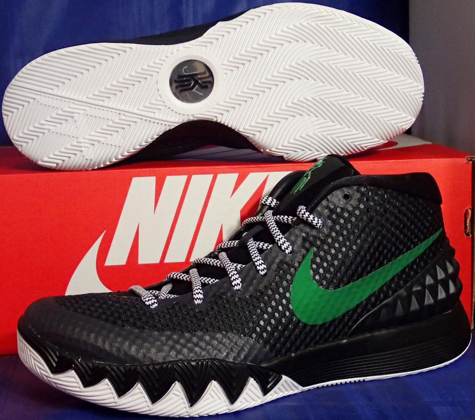 Womens Nike Zoom Kyrie 1 iD Black Green White SZ 9 ( 747424-991 )