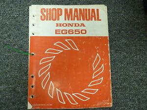 rebuild manual for honda gx160
