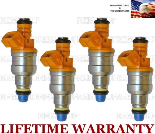 Genuine Set Of 4 fuel injectors for Hyundai Tiburon Elantra 2.0L 35310-23210