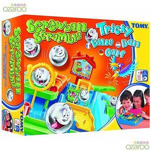 Tomy-Screwball-Scramble-Jeu-Amusant-Famille-Enfants-Activite-Jeu-de-Plateau-Age-5