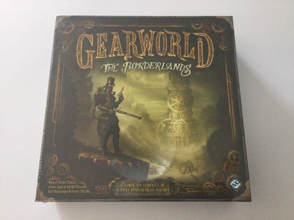 GEARWORLD The Borderlands - Fantasy Flight Games Board Game Nuovo