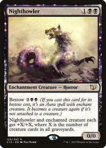 Nighthowler Commander 2015 NM Black Rare MAGIC THE GATHERING MTG CARD ABUGames