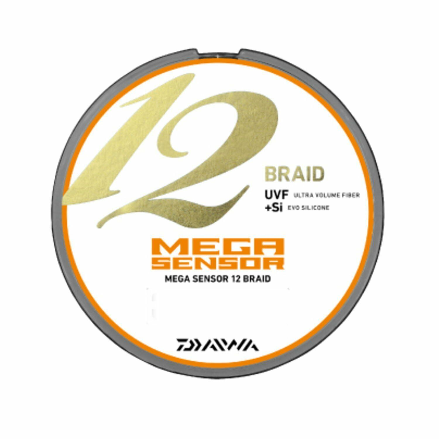 Daiwa PE Line UVF MEGA  SENSOR 12 BRAID EX + Si 200m Multi-color New from JAPAN  special offer