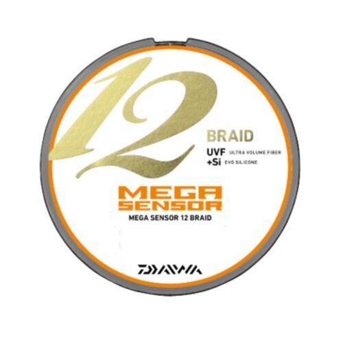 Daiwa PE Line UVF MEGA SENSOR 12 BRAID EX Si 200m Multi-Color New from JAPAN