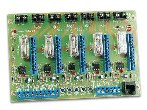 Descuento del 70% barato Velleman Domotica Domotica Domotica Luz Sistema - Busprint K8006, Hecho en USA  increíbles descuentos
