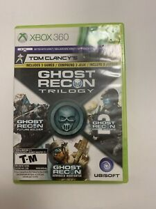Tom-Clancy-039-s-Ghost-Recon-Trilogy-XBOX-360-3-GAMES-IN-1-Tested-Ships-Fast-G11