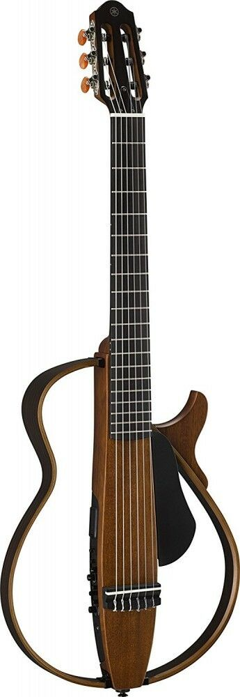 Yamaha Silent Acoustic Guitar Nylon Strings Natural SLG200N NT Free Shipping EMS