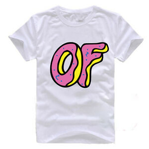 8e5567235ac4 Image is loading ODD-FUTURE-PINK-DONUT-KILL-THEM-ALL-WHITE-
