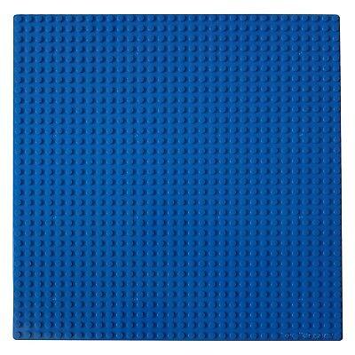 Blue Base Plate 10x10-inch 32x32-stud compatible For LEGO Building Bricks Sets