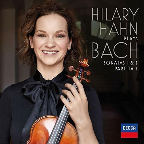 HAHN,HILARY-HILARY HAHN PLAYS BACH: SONATAS 1 & 2 / PARTITA 1 CD NEW