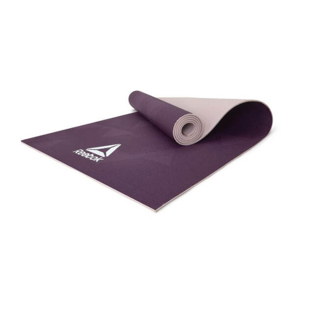 Reebok Geometric Yoga Mat Exercise Training Gym Fitness Workout with Carry  Strap 3f78d3922