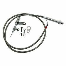 Transmission Kickdown Throttle Cable Braided Turbo Th 350 Chevy Th350 Turbo