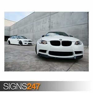 BMW (AB119) CAR POSTER - Photo Picture Poster Print Art A0 A1 A2 A3 A4