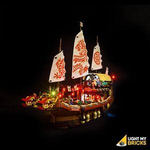 LIGHT-MY-BRICKS-LED-Light-kit-for-LEGO-Destinys-Bounty-set-70618-Lego-Ninjago